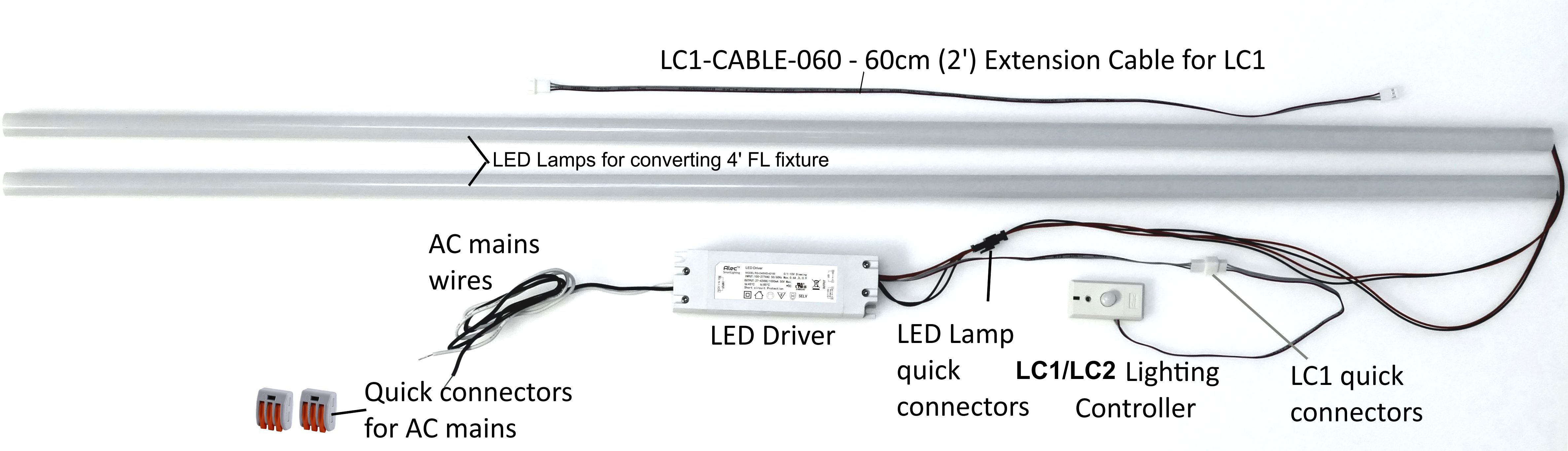 Led Office Lighting Fixture Wiring Diagram - Wiring Diagrams on