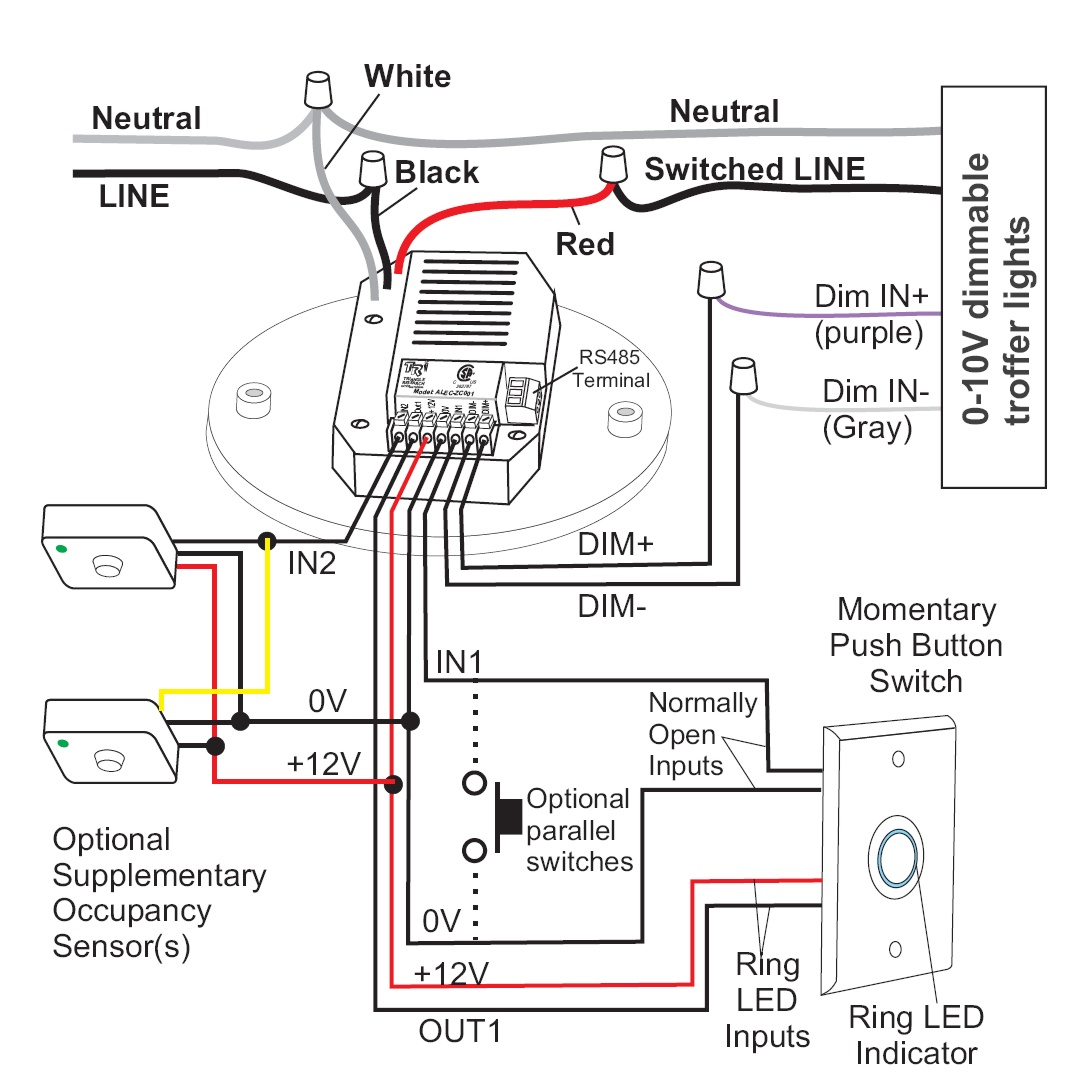 Implementing Alec Motion Detector Wiring Alecwiring2